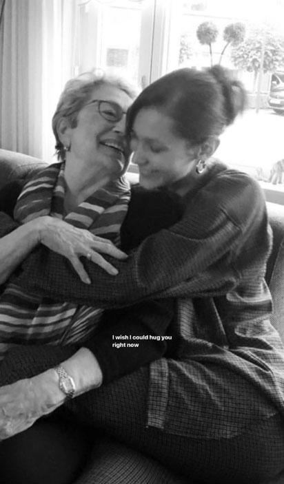 Bella Hadid and grandma Ans van den Herik Death