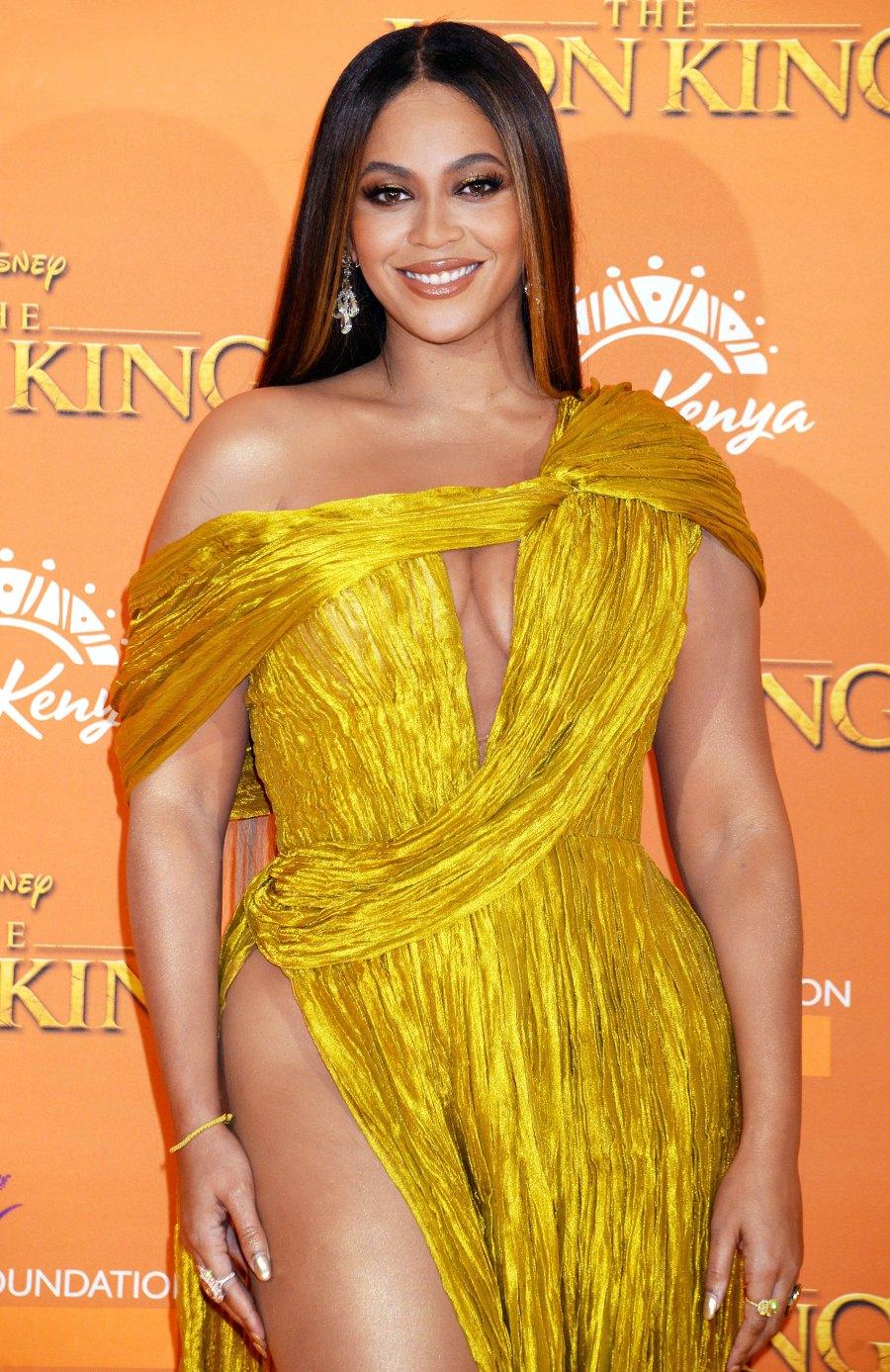 Beyonce Yellow Dress July 14, 2019