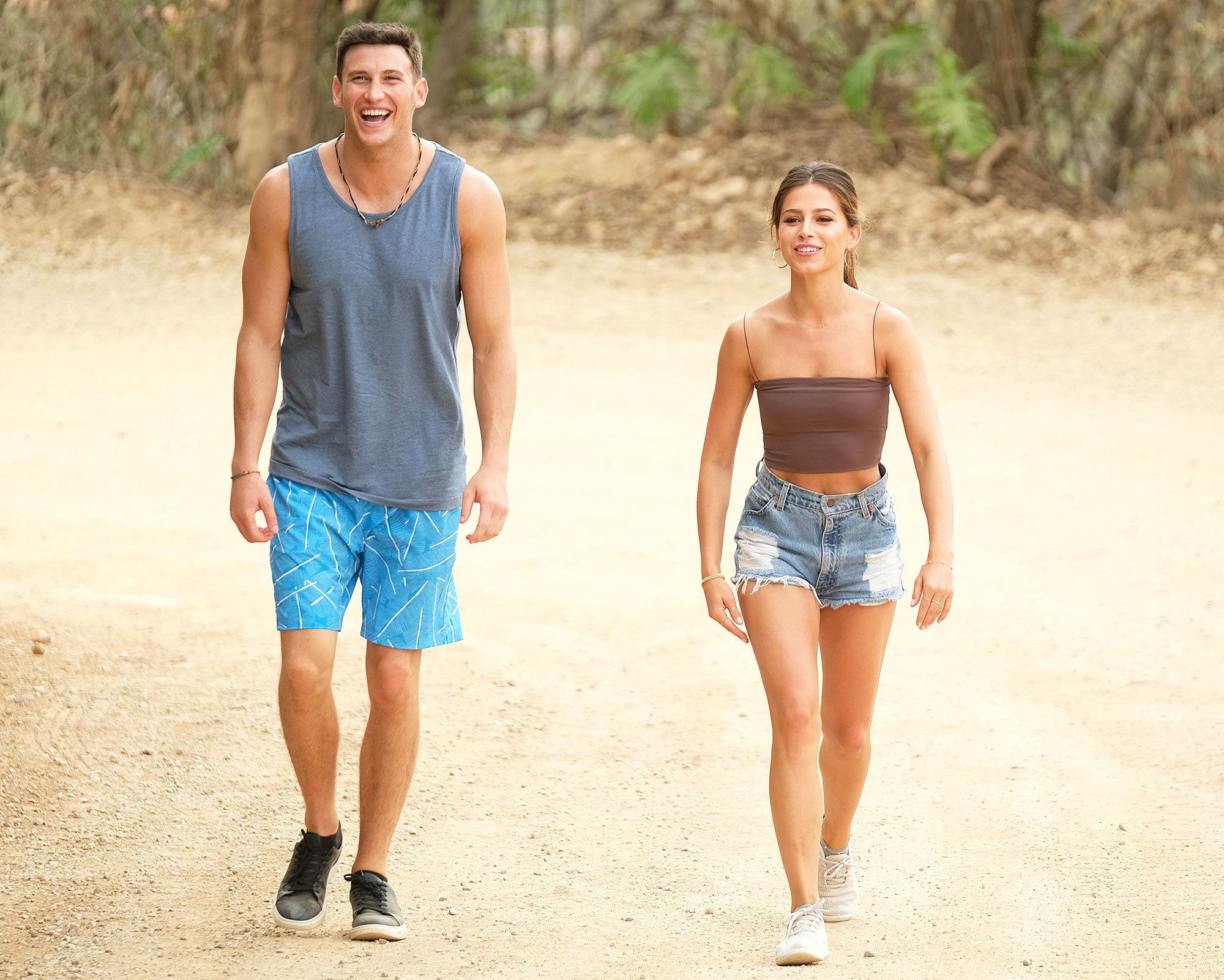 Blake Horstmann and Kristina Schulman on Date on Bachelor in Paradise