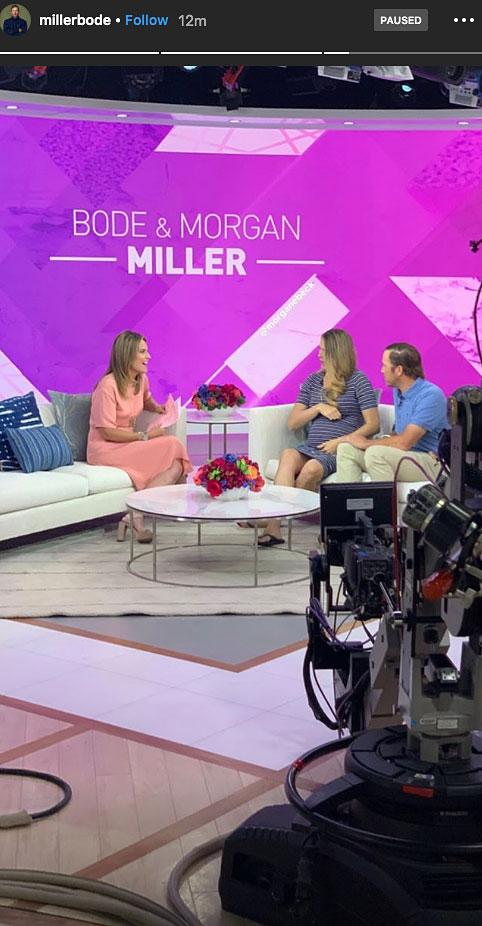 Bode Miller Morgan Miller Pregnant Today Show
