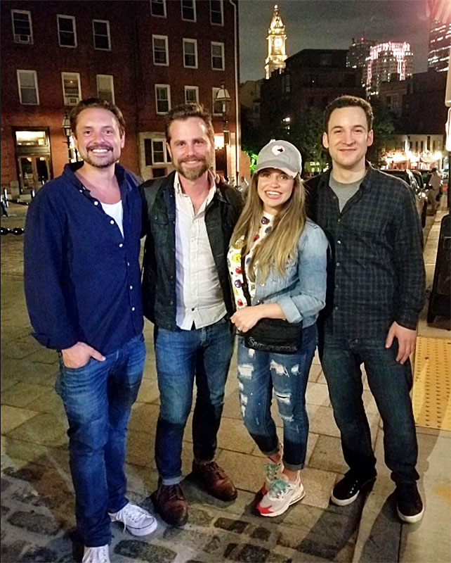 Boy Meets World Boston Tea Party Costars Reunited