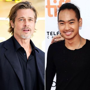 Brad Pitt Learned Maddox College Plans Right Before News Went Public
