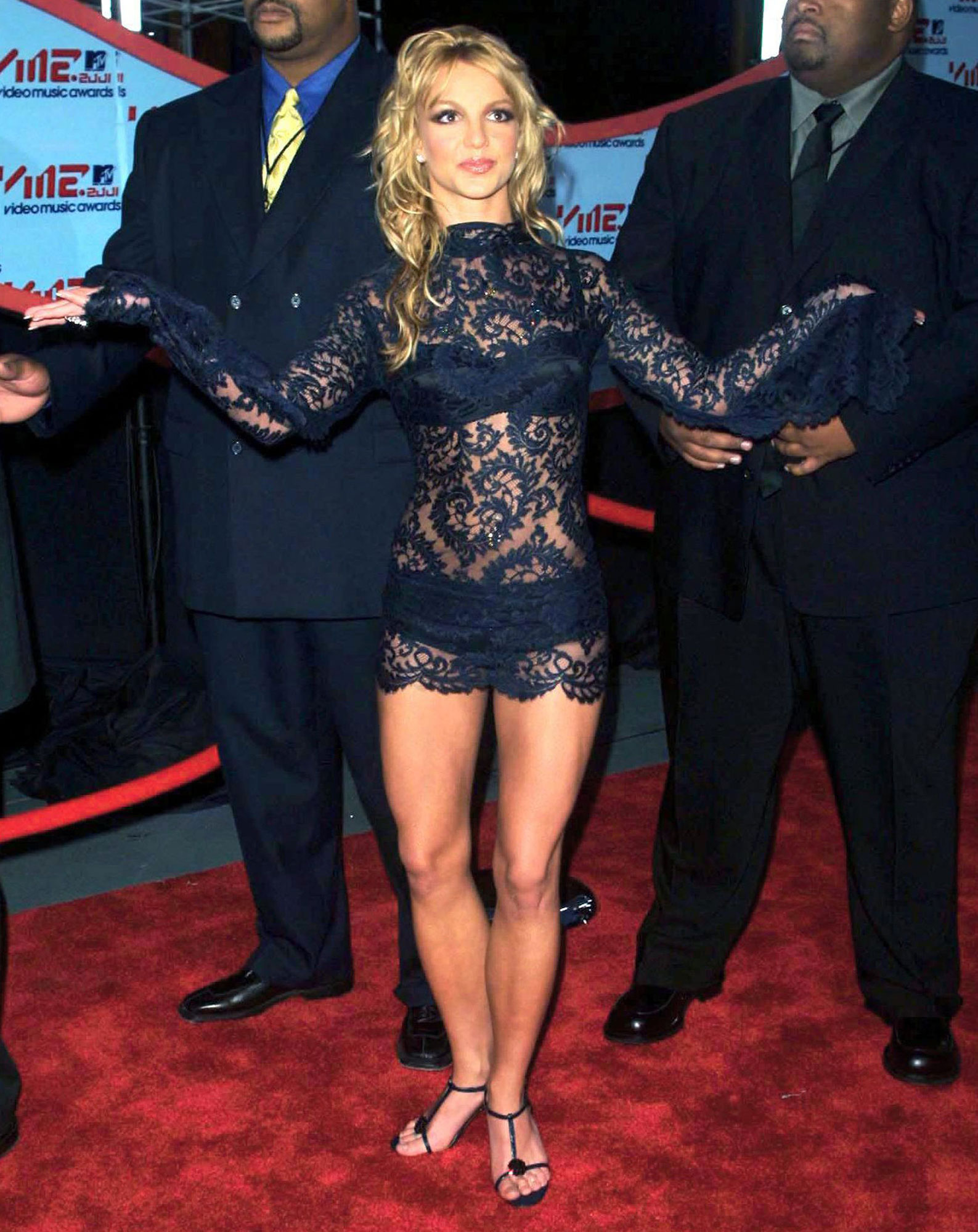 Britney Spears N Panties Vma HD