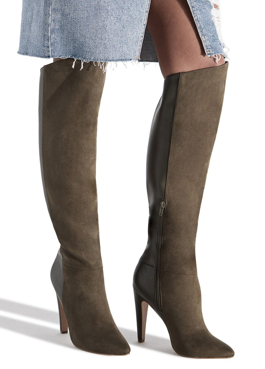 Brittany Cartwright x ShoeDazzle Boot Collection - The Saylor