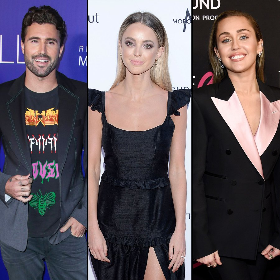 Brody Jenner Leaves Flirty Comment on Kaitlynn Carter Photo With Miley Cyrus