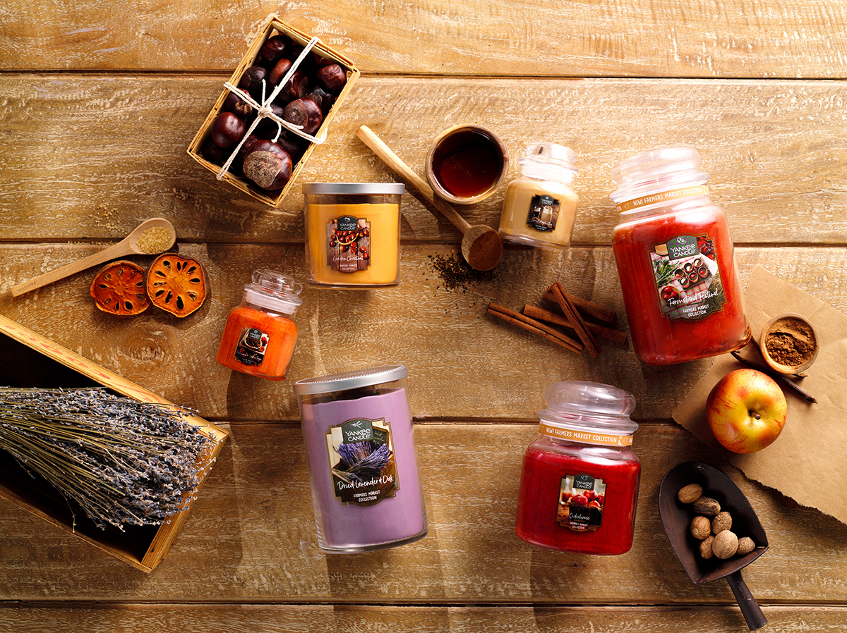Save 60% on the New Yankee Candle Farmers Market Collection