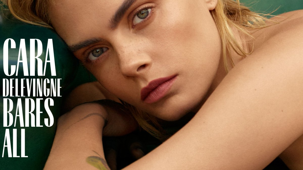 Cara Delevingne Poses Nude on 'Marie Claire' September Cover in Tribute to a '90s Kate Moss