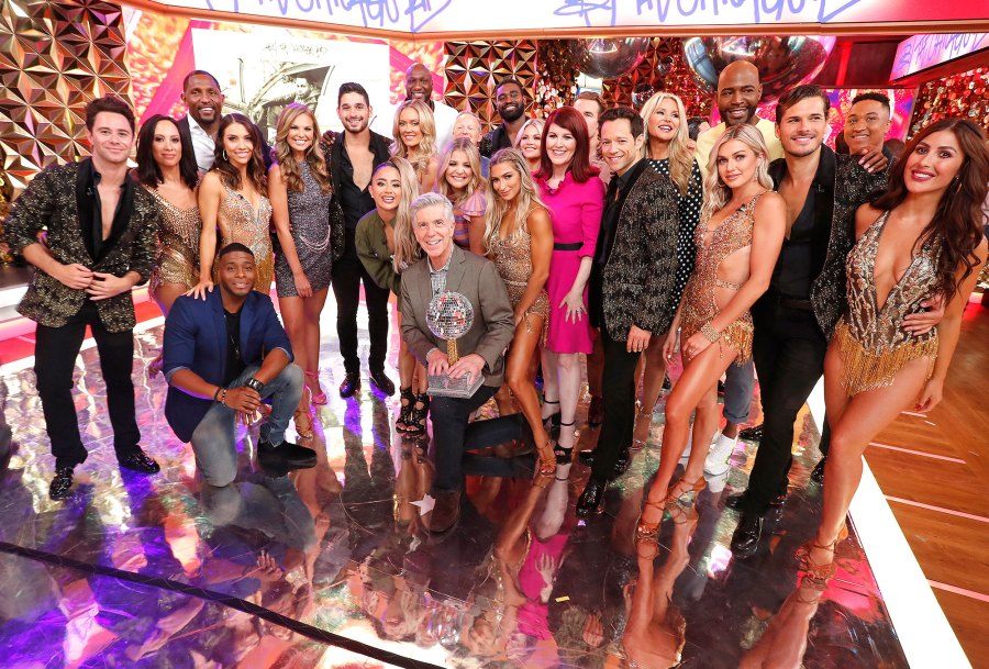 Cast of Dancing With The Stars on Good Morning America
