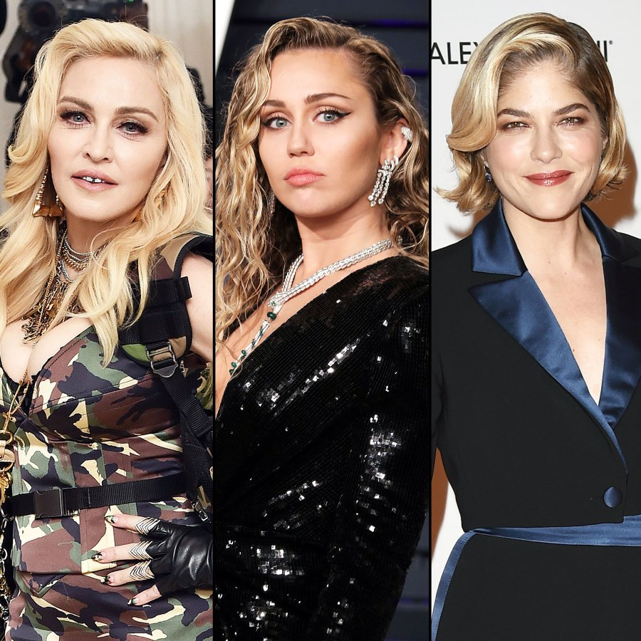 Celebs Support Miley Cyrus After She Denies Cheating on Liam Hemsworth