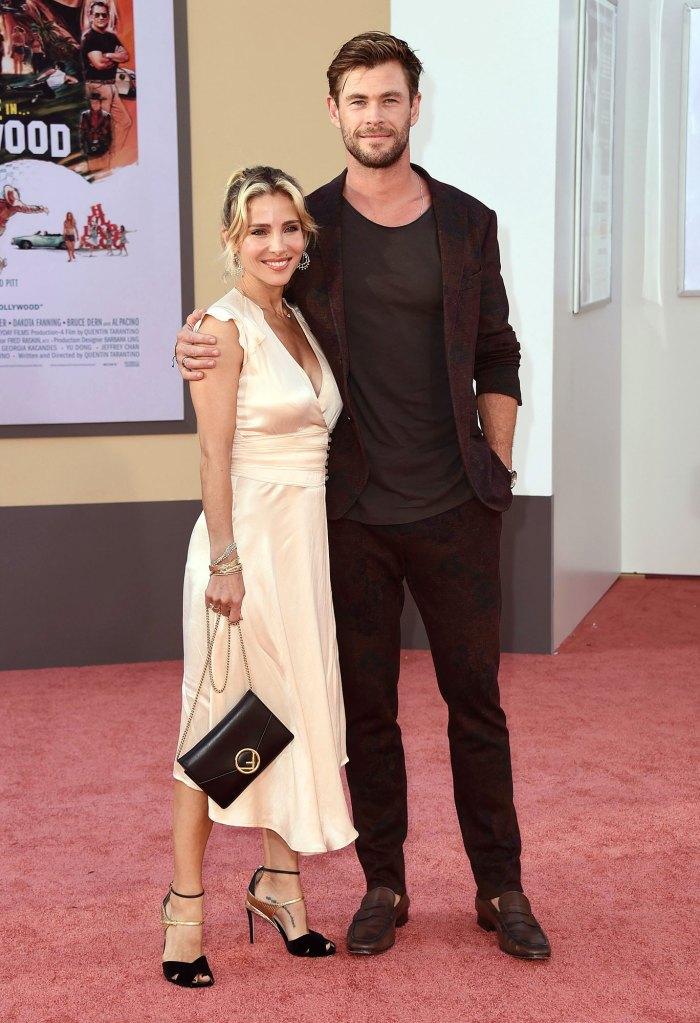 Elsa Pataky And Chris Hemsworth Birthday Red Carpet