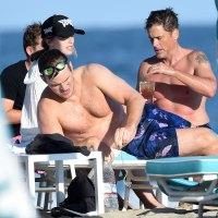 Chris Pratt and Wife Katherine Schwarzenegger Show Off Beach Bods