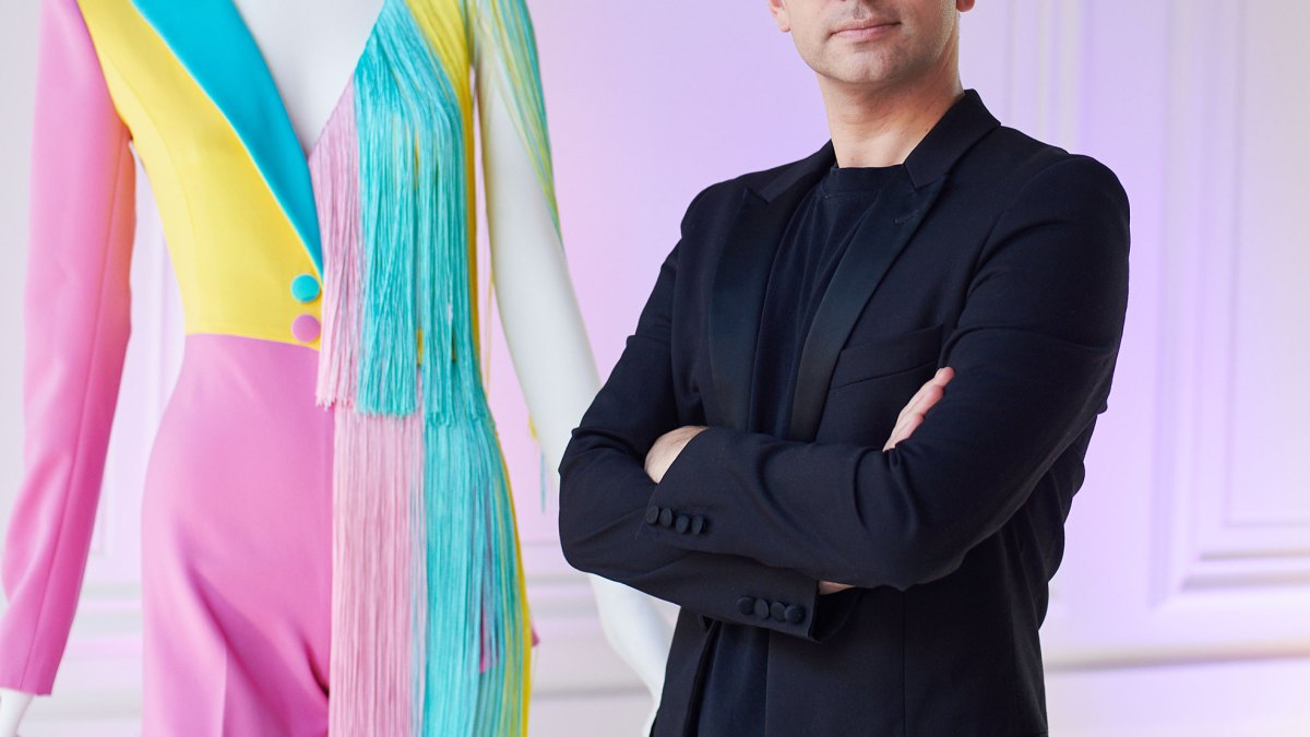 Fashion Designer Christian Siriano Just Unveiled His Candy-Inspired Ensemble for SweeTARTS, to Be Worn by a Celeb at NYFW