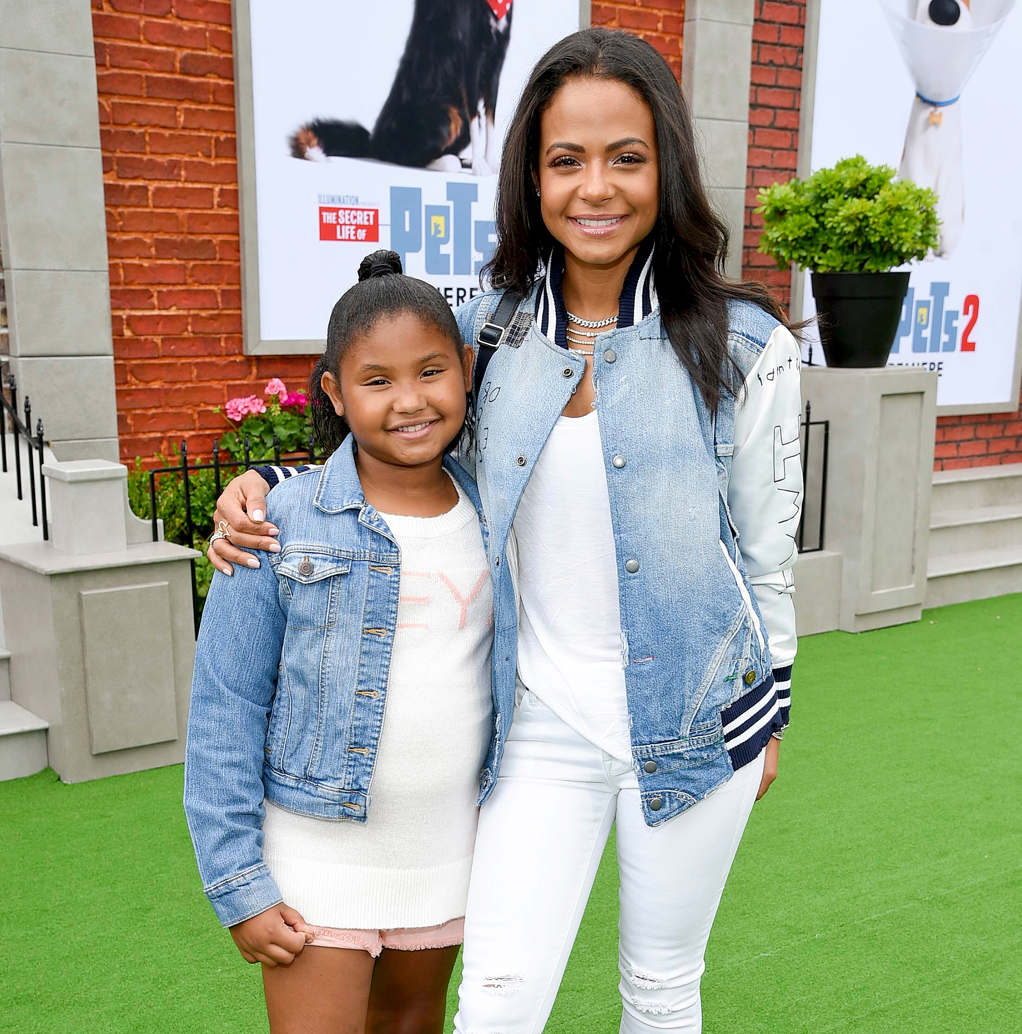 Christina-Milian-daughter-Violet
