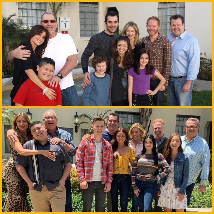 Costars Reunited Modern family