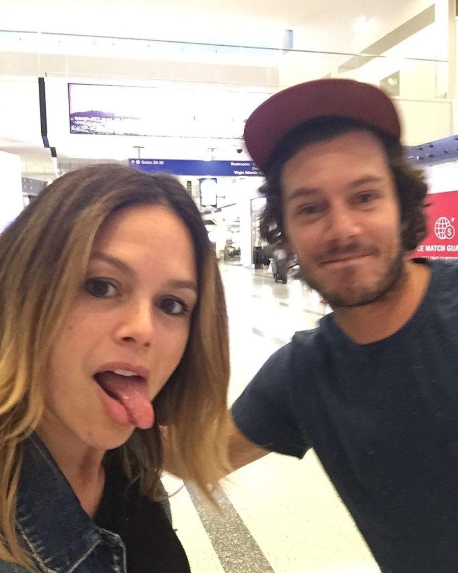 Costars Reunited! Rachel Bilson and Adam Brody