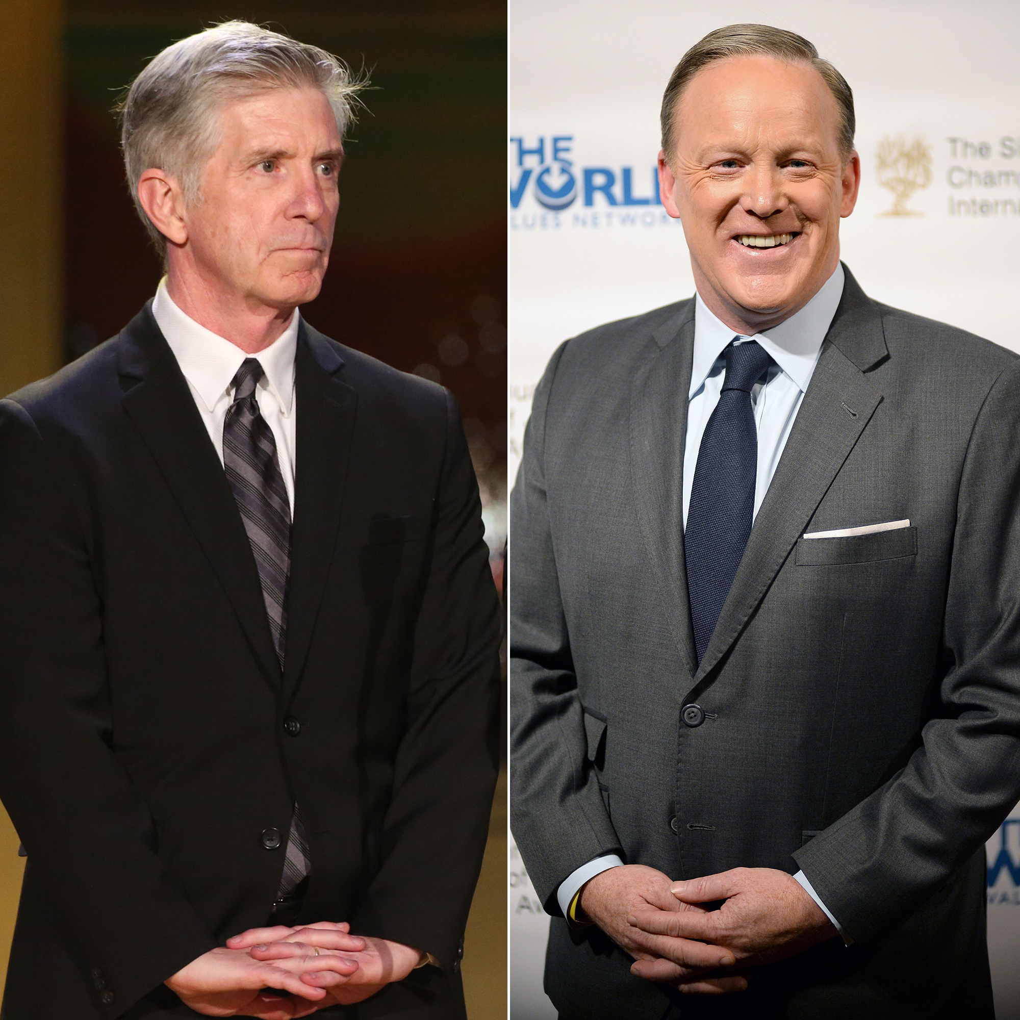 DWTS' Host Tom Bergeron Disagrees With Casting Sean Spicer