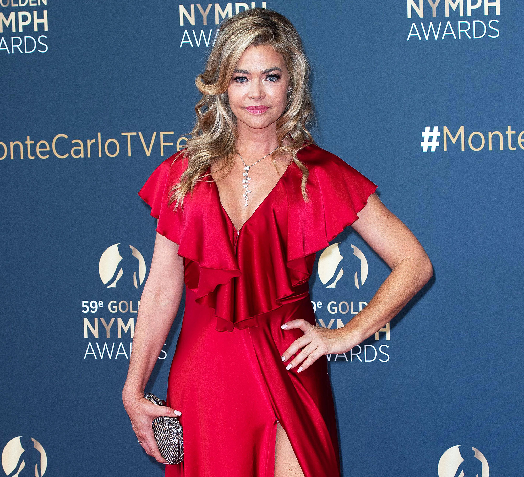 Denise Richards Attends the Monte Carlo Television Festival Honest With Daughters Told Them About Playboy Spread
