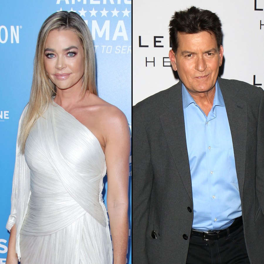 Denise Richards Says Charlie Sheen Wanted to Bleed Her Dry During Divorce
