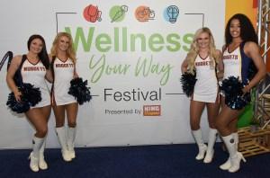 Denver Nuggets Cheerleaders - Wellness Your Way Festival