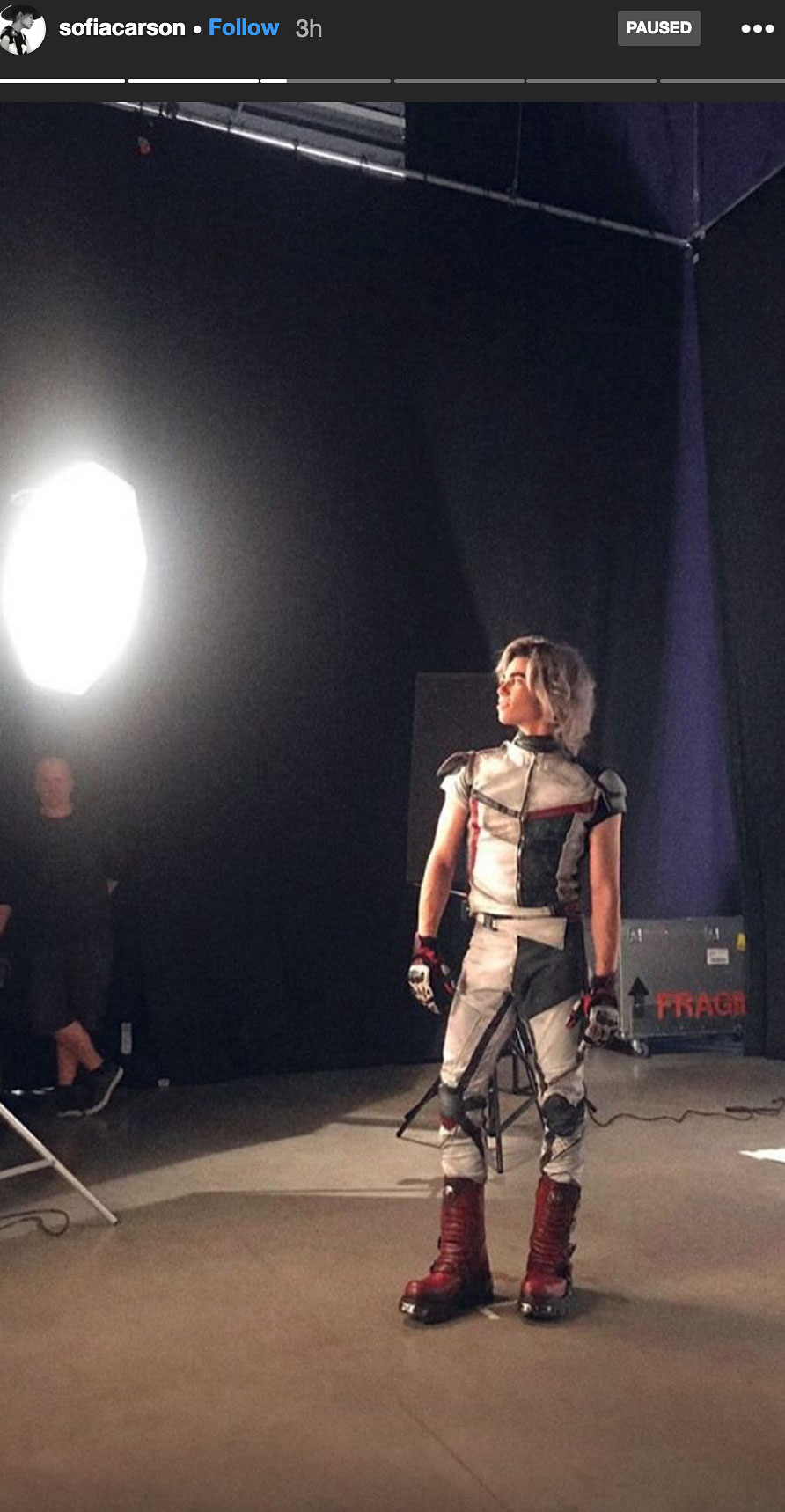 Descendants' Cast Shares Behind-the-Scenes Photos of Cameron