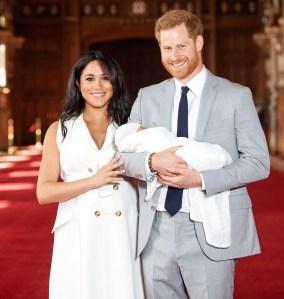 Duchess Meghan Prince Harry Son Archie Has Dad Reddish Hair