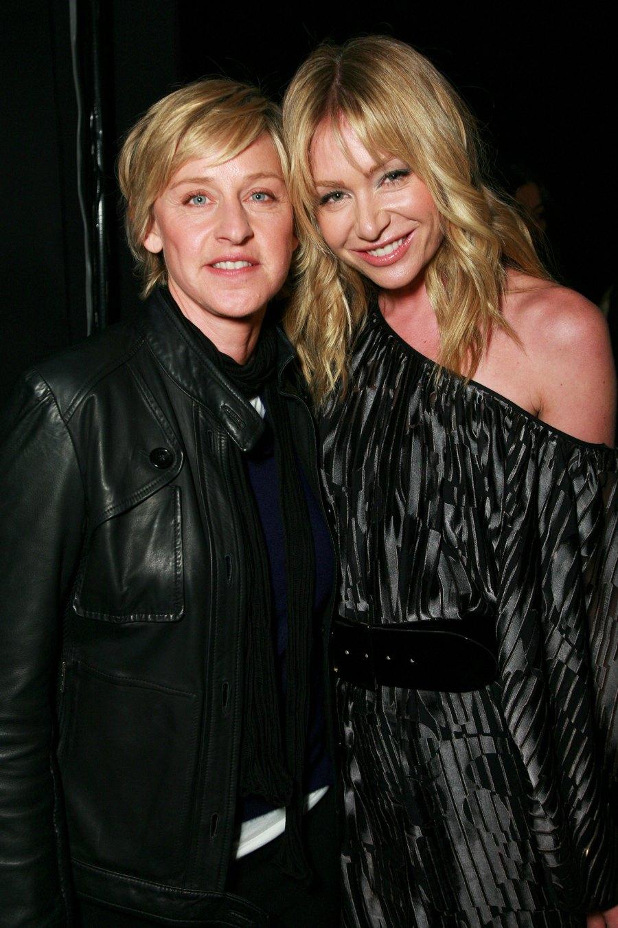 Ellen DeGeneres and Portia Di Rossi Relationship Timeline