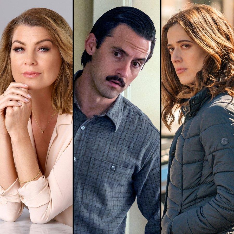 Fall TV Premiere Dates Ellen Pompeo Milo Ventimiglia Marina Squerciati