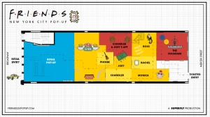 Friends NYC Pop-Up Map