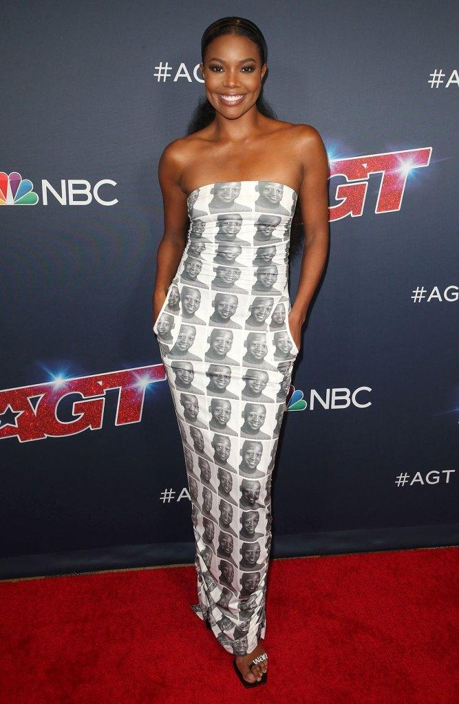Gabrielle Union Flaws as a Mom Photo Dress THE R X Ch