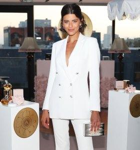 Georgia Fowler White Suit August 8, 2019