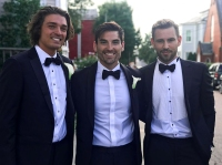 Bachelor Nation Guests Ashley Iaconetti Jared Haibon Wedding