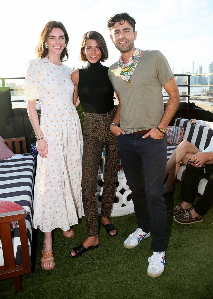 Online VIP Hilary Rhoda, Georgia Fowler and Adrian Grenier