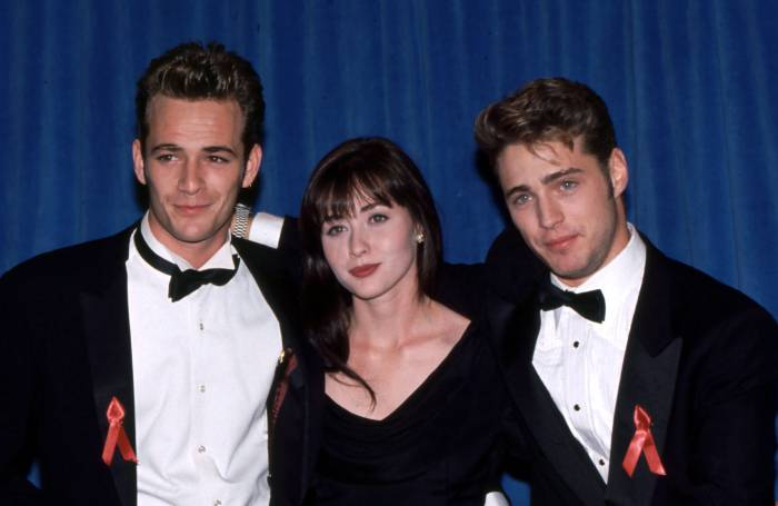 How 'BH90210' Honored Luke Perry on Premiere-1