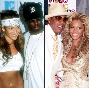 J.Lo Diddy Jay Bey Iconic Couples at the VMAs Over the Years