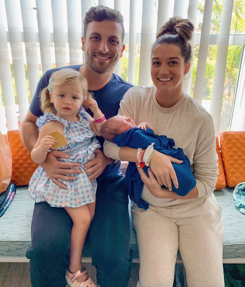 Jade-Roper-and-Tanner-Tolbert-Reveal-Baby-Boy's-Name-After-Emergency-Home-Birth
