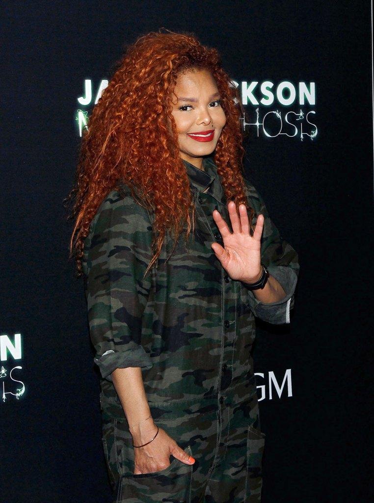 Janet Jackson and Son Eissa No Nanny