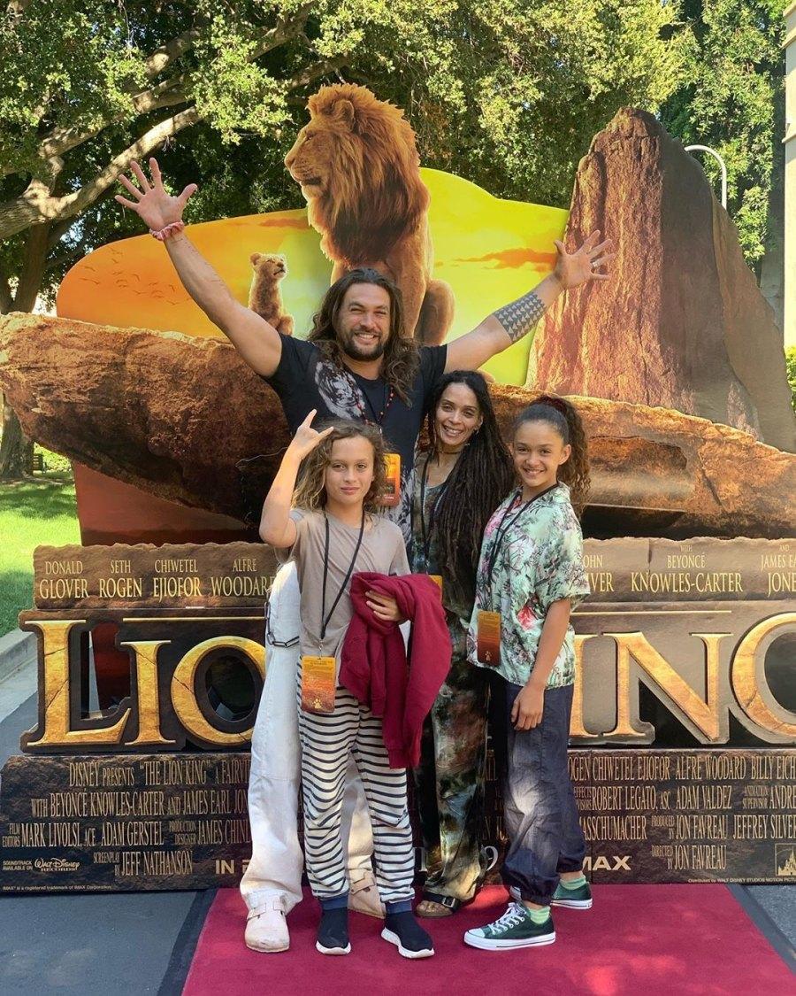 Jason Momoa Lisa Bonet and kids
