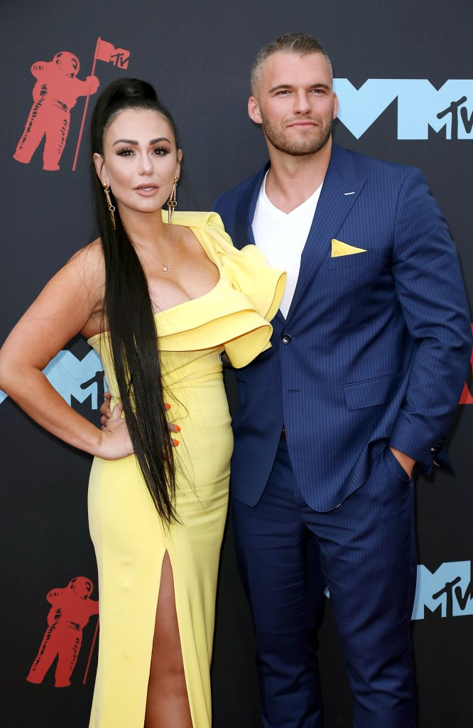 Jenni 'JWoww' Farley and Boyfriend Zack Clayton Carpinello Respond to Rumors She Is Pregnant