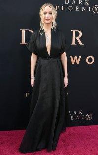 Jennifer Lawrence Black Gown June 4, 2019