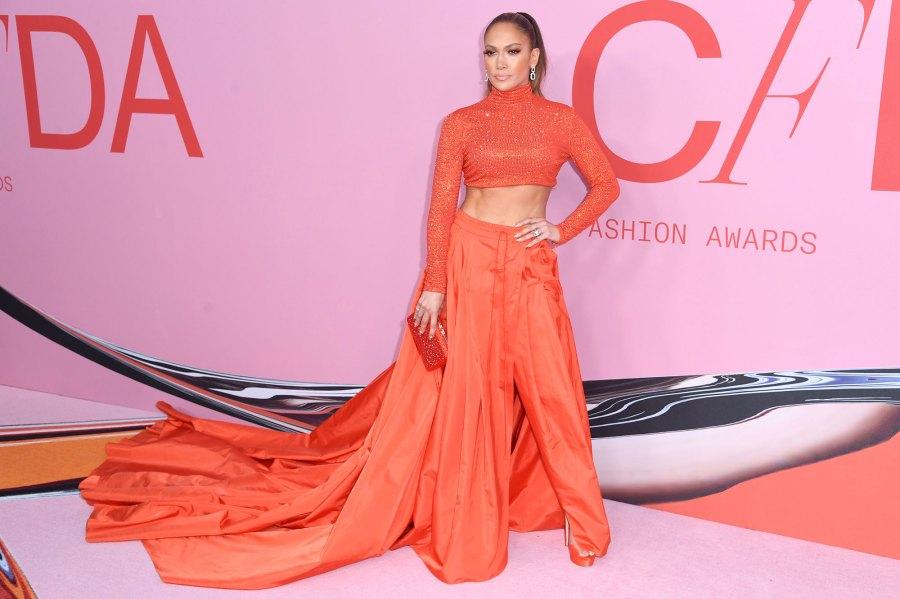 Jennifer Lopez Fashion Awards Natural Learning Pole Dancing for 'Hustlers'