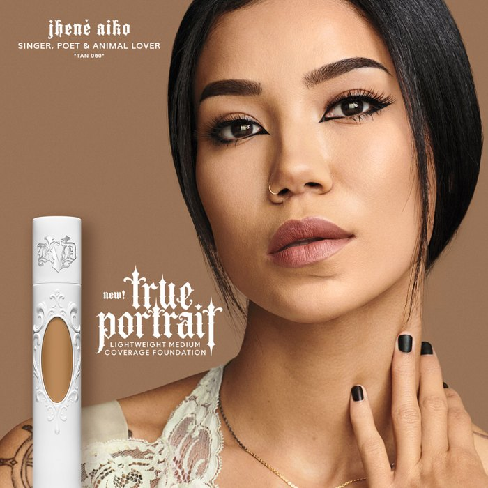 Jhene Aiko True Portrait Foundation