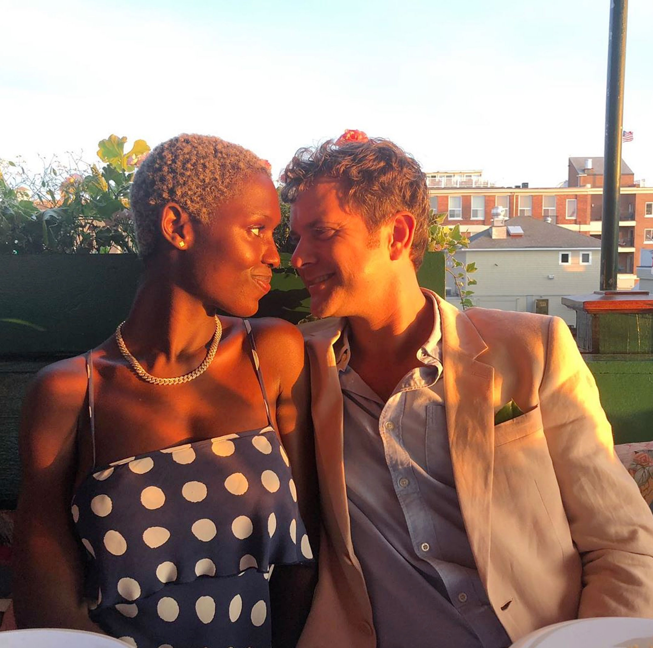 Joshua Jackson Cuddles With Jodie Turner-Smith After Marriage License News