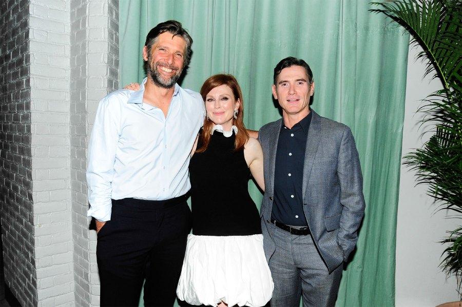 Online VIP Julianne Moore and husband Bart Freundlich