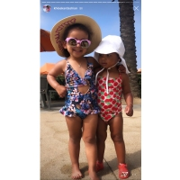 Kardashian Kids Dream True Beach