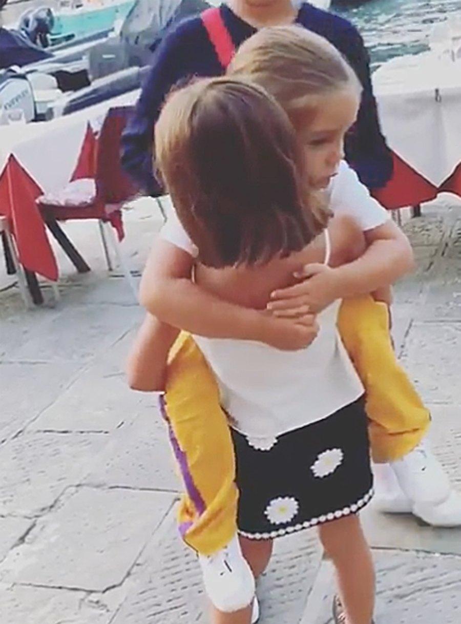 Kardashian Kids in Portofino Penelope Reign