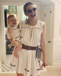 Kate Hudson Matches with Daughter