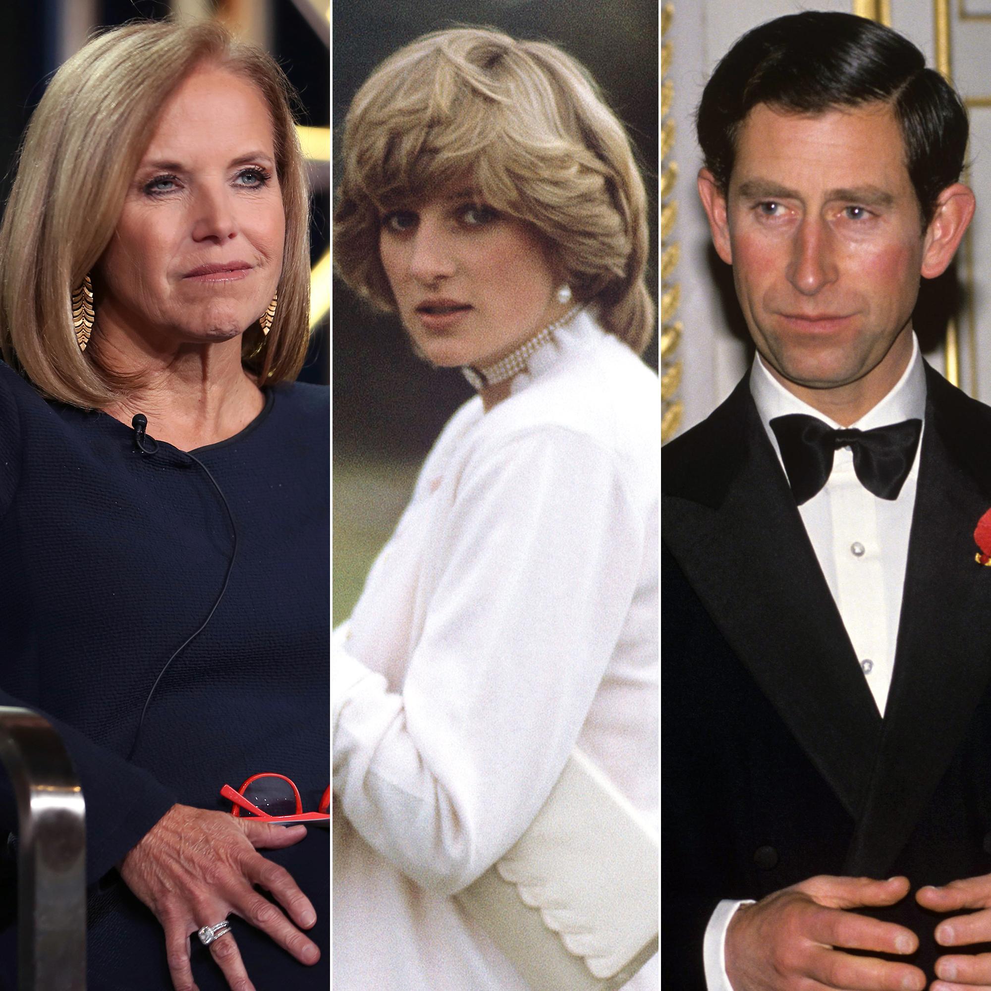 Katie Couric Recalls Princess Diana's Heartbreak Over Prince Charles Divorce