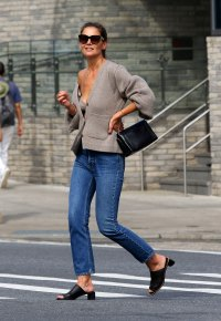 Katie Holmes Wears Revealing Outfit in New York City After Jamie Foxx Split