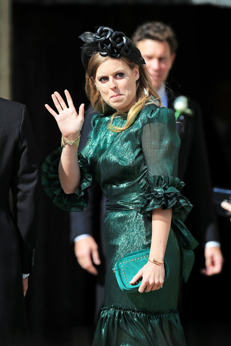 Princess Beatrice Katy Perry, Orlando Bloom, Princess Beatrice and More Celebrity Guests Attend Ellie Goulding's Wedding