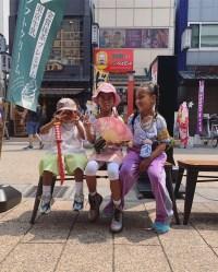 Kim Kardashian Kanye West Japan Trip Kids North Saint
